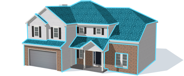 Hover Accurate Interactive 3d Model Of Any Property